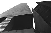 Citicorp Building Abstract Art Print by J Warren Greene