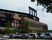 Baseball Stadiums Framed Prints - CitiField Stadium Framed Print by Suhas Tavkar