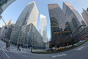 Crosswalk Prints - Citigroup Center from Park Avenue I Print by Clarence Holmes