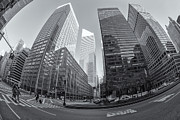 Crosswalk Framed Prints - Citigroup Center from Park Avenue II Framed Print by Clarence Holmes