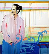 Drips Paintings - Citizen Cope - Seattle - The Showbox - May 28th 2007 by Pete Nawara