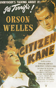 Citizen Painting Framed Prints - Citizen Kane - Orson Welles Framed Print by Nomad Art and  Design