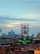 Phillies Photo Framed Prints - Citizens Bank Park 1 Framed Print by See Me Beautiful Photography