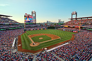 Phillies  Posters - Citizens Bank Park - Philadelphia Phillies Poster by Mark Whitt