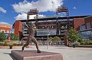 Phillies Metal Prints - Citizens Park 1 Color Metal Print by Jack Paolini