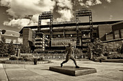 Phillies Metal Prints - Citizens Park 1 Metal Print by Jack Paolini