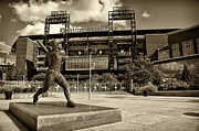 Philadelphia Phillies Framed Prints - Citizens Park 2 Framed Print by Jack Paolini