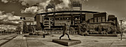 Baseball. Philadelphia Phillies Framed Prints - Citizens Park Panoramic Framed Print by Jack Paolini