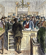 Citizenship, Nyc, 1868 Print by Granger