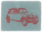 Old Car Digital Art - Citroen 2CV by Irina  March