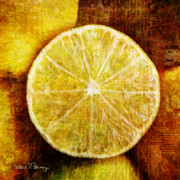 Lime Digital Art - Citrus by Barbara Berney