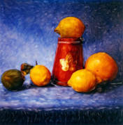 Renata Ratajczyk - Citrus Fruits - Still Life 1