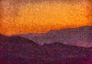 Hills Art - City - Arizona - Rolling Hills by Mike Savad