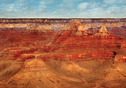 Crevice Prints - City - Arizona - The Grand Canyon Print by Mike Savad