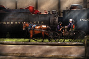 Amish Family Art - City - Lancaster PA - You got to love Lancaster by Mike Savad
