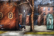 City - Newark Nj - Always Waiting  Print by Mike Savad