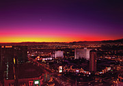 Vegas Photos - City - Vegas - NY - Sunrise over the city by Mike Savad