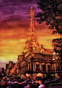 Vegas Photos - City - Vegas - Paris - The Paris Hotel by Mike Savad
