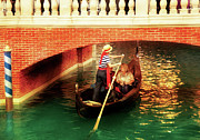 Italy Photo Prints - City - Vegas - Venetian - Thats Amore Print by Mike Savad