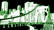 Evelyn Prints - City 5 Print by Evelyn Patrick