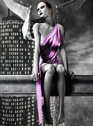 City Angel - 1 Print by Bob Orsillo