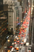 Traffic Prints - City Bokeh Print by Photo by Jodi McKee