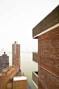 New York City Rooftop Photos - City Buildings From a Rooftop by Eddy Joaquim