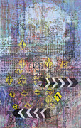 City Mixed Media Originals - City Doodle 5 by Andy  Mercer