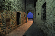 Brunello Prints - City Door of San Gusme Print by Maurizio Martini