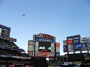 Baseball Fields Photos - City field at Queens by Suhas Tavkar