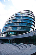 London Skyline Art - City Hall by Dawn OConnor