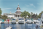 Kingston Prints - City Hall Kingston Ontario Canada Print by Peggy Holcroft
