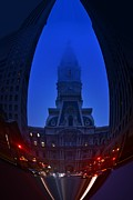 Philadelphia City Hall Framed Prints - City Hall Philadelphia Framed Print by Bener Kavukcuoglu