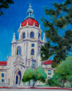 City Hall Paintings - City Hall by Richard  Willson