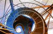 Hall Digital Art Prints - City Hall Spiral Print by Geoff Strehlow