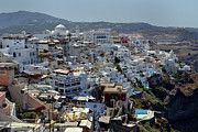 Greece Photos - City Heights. by Terence Davis