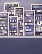 Sandy Bostelman - City Lights in Blue