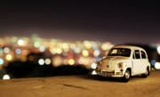 Dated Photo Prints - City Lights Print by Ivan Vukelic