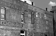 Brick Buildings Metal Prints - City Market Savannah Metal Print by David Lee Thompson