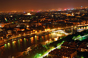 Aerial Photos - City of Light by Elena Elisseeva