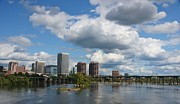 Richmond Virginia Prints - City of Richmond on the James River Print by Sean Cupp