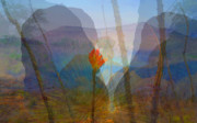 Multiple Exposures Prints - City of Rocks Print by Thor Sigstedt