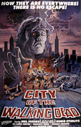 1980s Prints - City Of The Walking Dead, 1980 Print by Everett