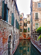 Canals Framed Prints - City of Water Framed Print by Julie Palencia