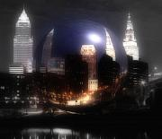 Cleveland Framed Prints - City On The North Coast Framed Print by Kenneth Krolikowski