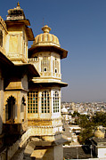 Red Roof Photo Originals - City palace India by Ankit Sharma