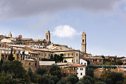 Tuscan Hills Framed Prints - City Skyline Framed Print by Jeremy Woodhouse