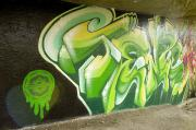 Aotearoa Acrylic Prints - City Sponsored And Approved Graffiti Acrylic Print by Bill Hatcher