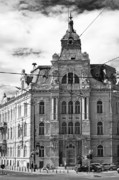 Romania Photos - City street by Gabriela Insuratelu