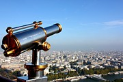 Binoculars Photos - City Under High Surveillance by Landscape and urban landscape